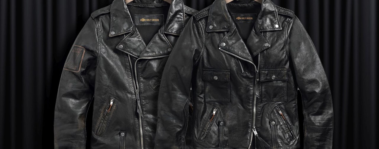 Die klassische Harley-Davidson Lederjacke ist zurück