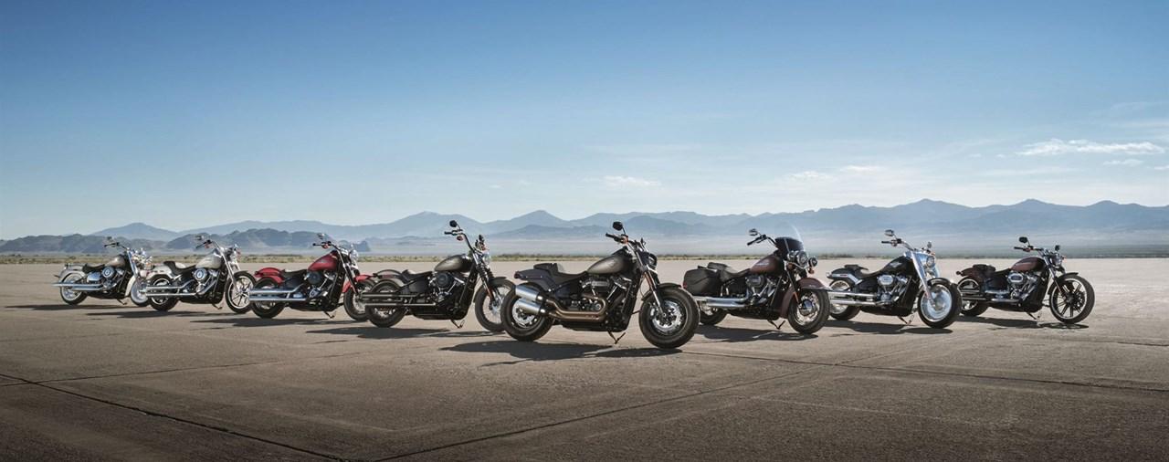 Harley-Davidson enthüllt die neuen Softail Modelle für 2018