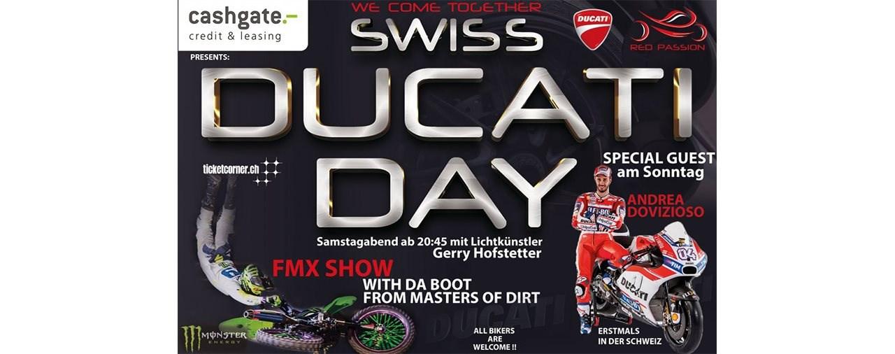 """1. Swiss Ducati Day in Hinwil mit noch mehr """"Wow-Effekten"""""""