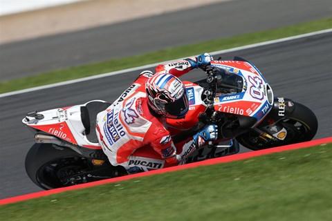 MotoGP Silverstone Bericht 2017