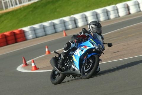 Suzuki GSX-R 125 Test 2017