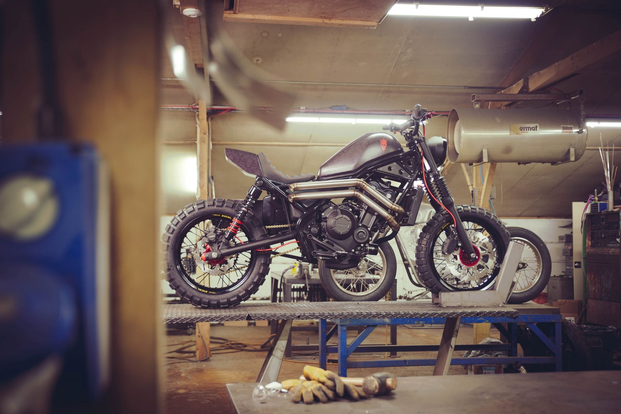 honda custom bikes am glemseck 101 motorrad news. Black Bedroom Furniture Sets. Home Design Ideas