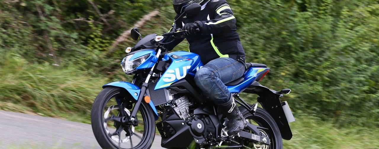 Suzuki GSX-S 125 Test 2017