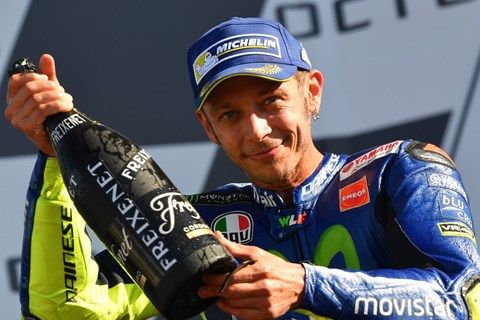 Valentino Rossi versäumt Misano GP