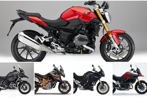 Top 5: Motorräder für die Alpen unter 7000 Euro