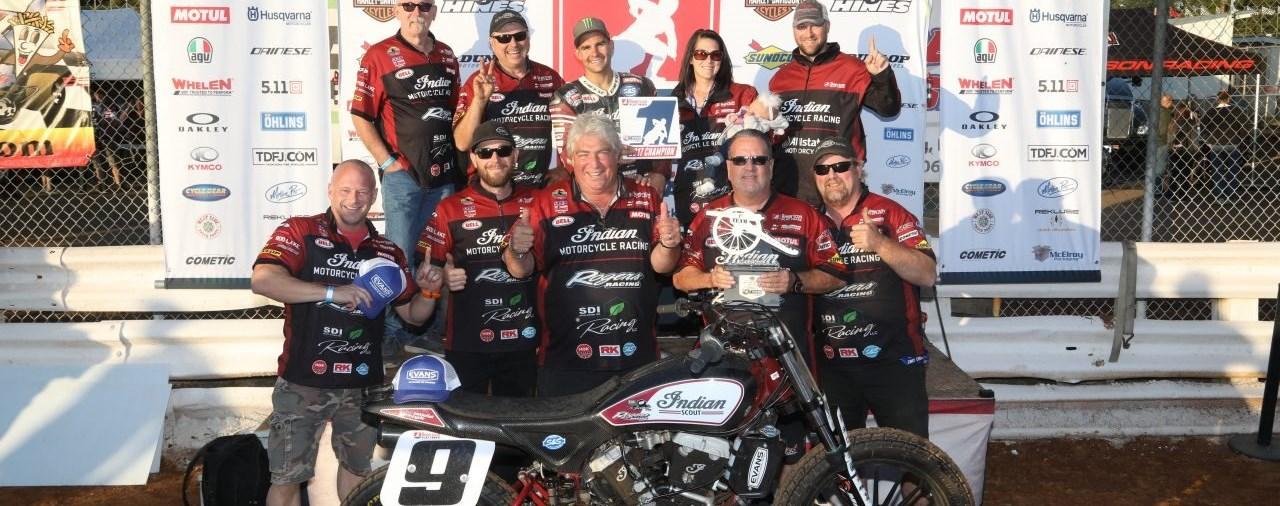 Jared Mees gewinnt mit Indian Motorcycle FTR Meisterschaft