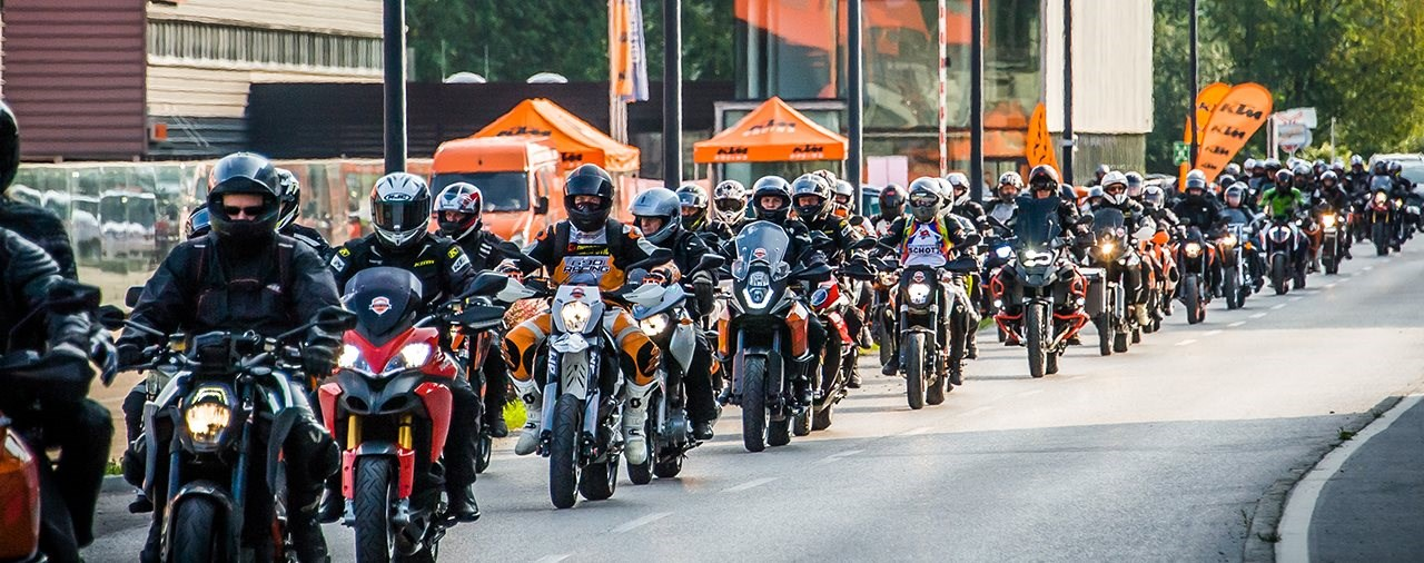 DAS WAR DER KTM RIDE OUT 2017