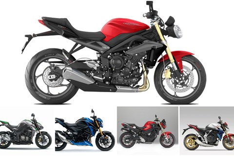 Top 5: Naked Bikes unter 8000 Euro