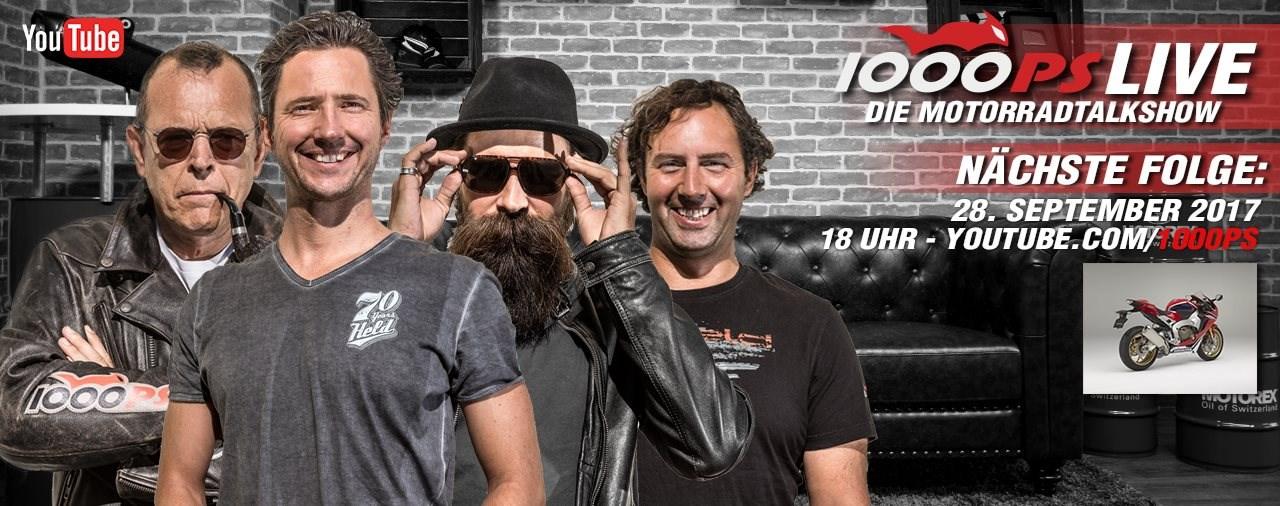 1000PS LIVE - DIE Motorradtalkshow - Jetzt NEU