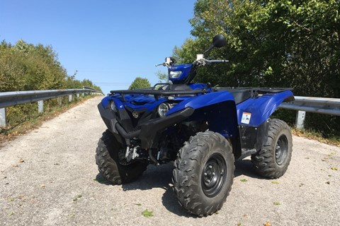 Yamaha Grizzly 700 EPS Test
