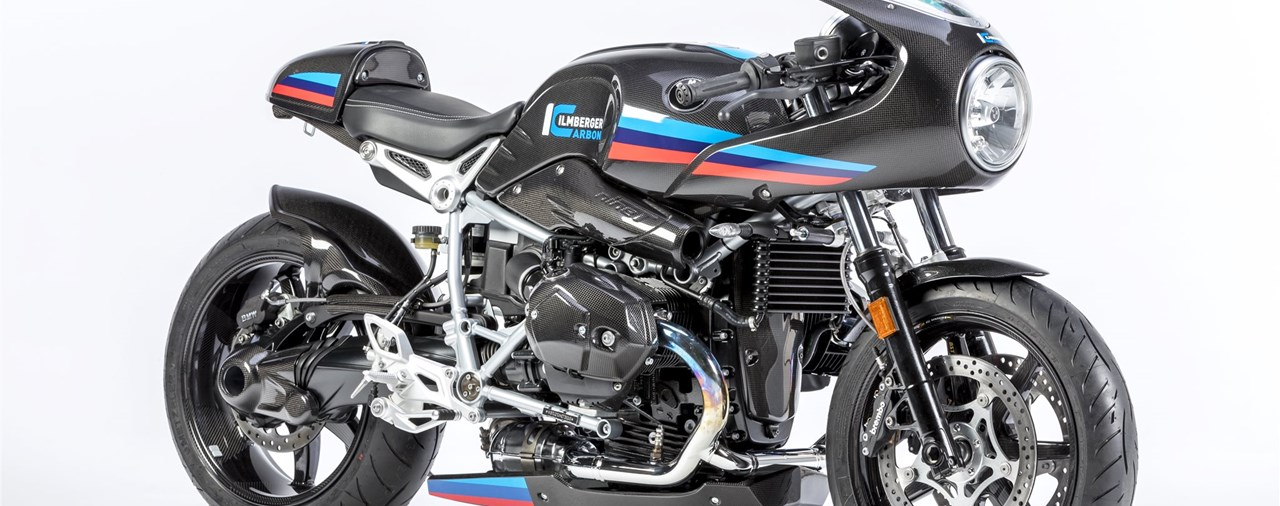 Carbon-Teile von Ilmberger Carbonparts für BMW R NineT Racer