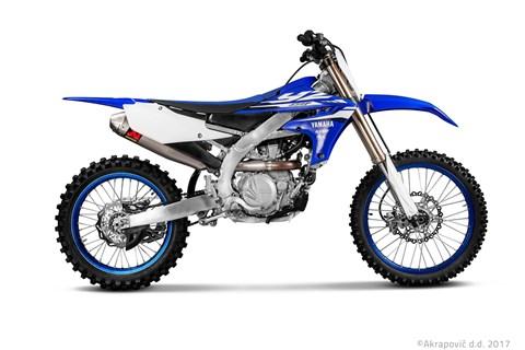 Die neue Akrapovič Auspuffanlagen für die Yamaha YZ 450 F!
