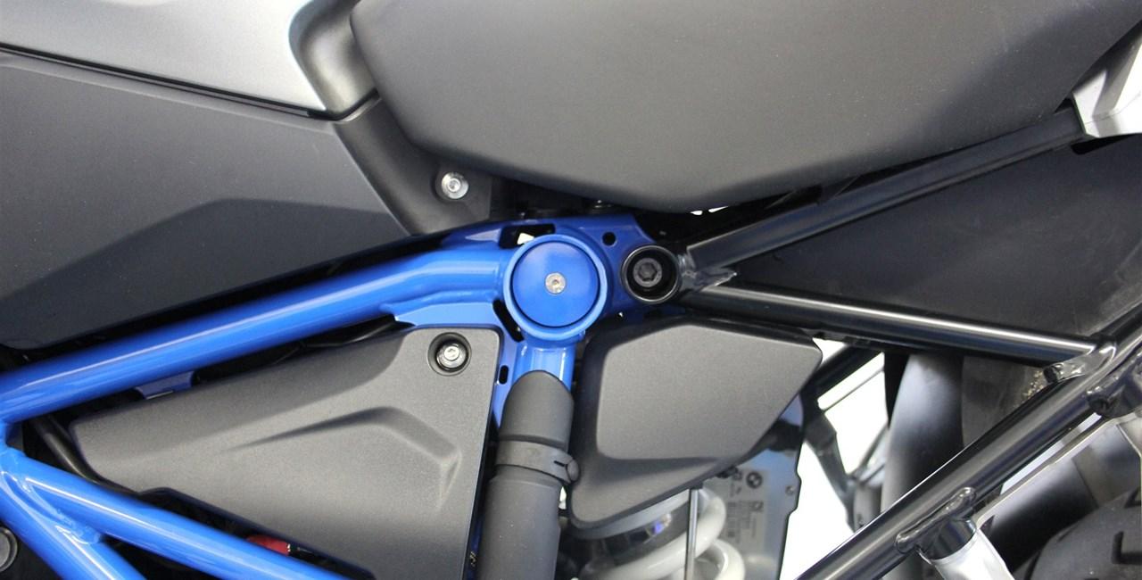 Neues Motorradzubehör für BMW R 1200 GS LC Modelle von Hornig
