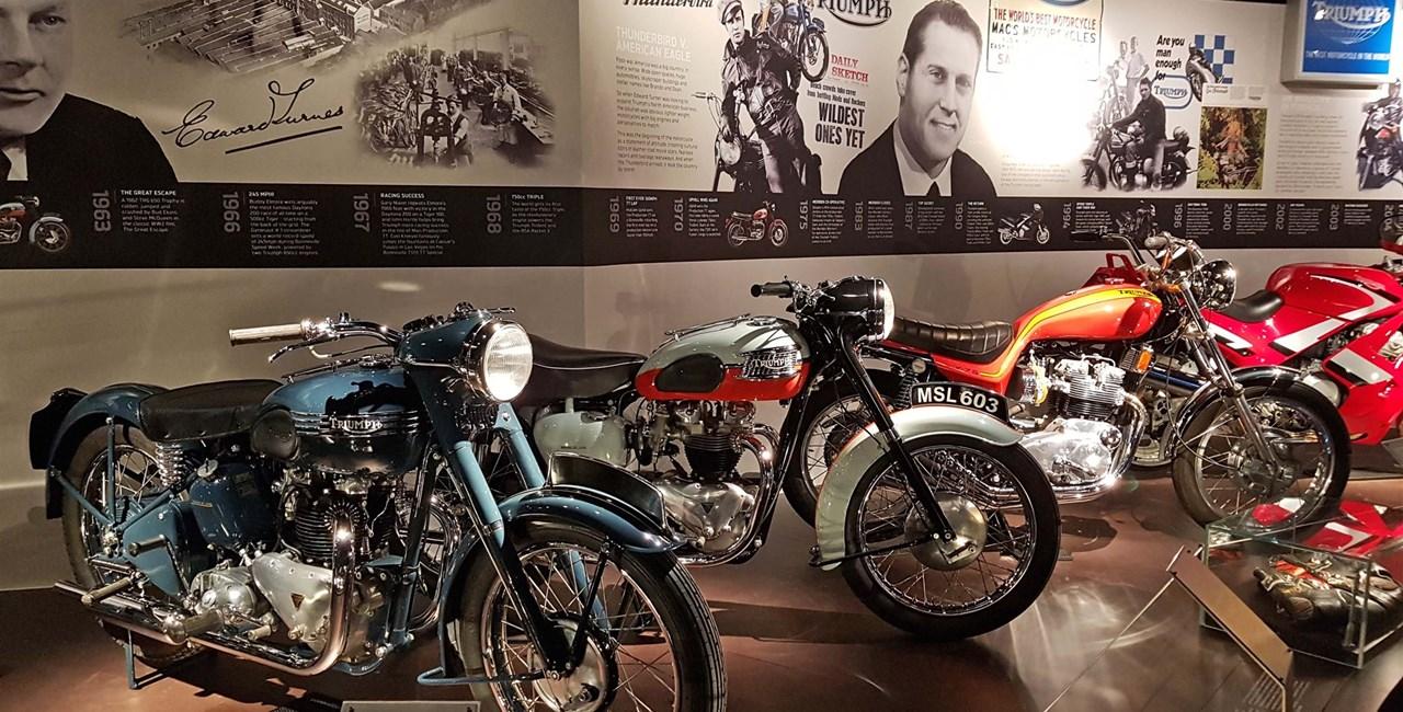 TRIUMPH Motorcycles öffnet die Tore für Besucher