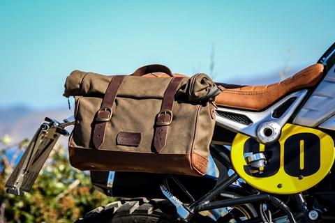 Retro-Seitentaschen für BMW R nineT von Wunderlich
