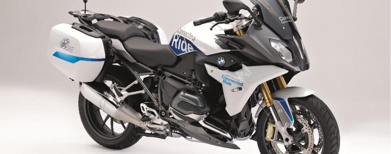 BMW Motorrad präsentiert R 1200 RS ConnectedRide
