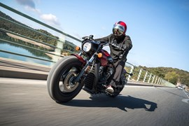 Indian Scout Bobber Test 2017