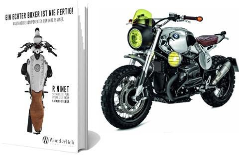 Wunderlich Katalog für BMW R nineT
