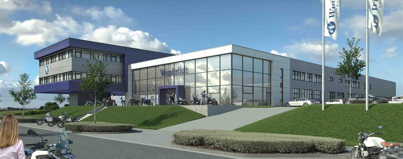 Baubeginn für neue Wunderlich Unternehmenszentrale