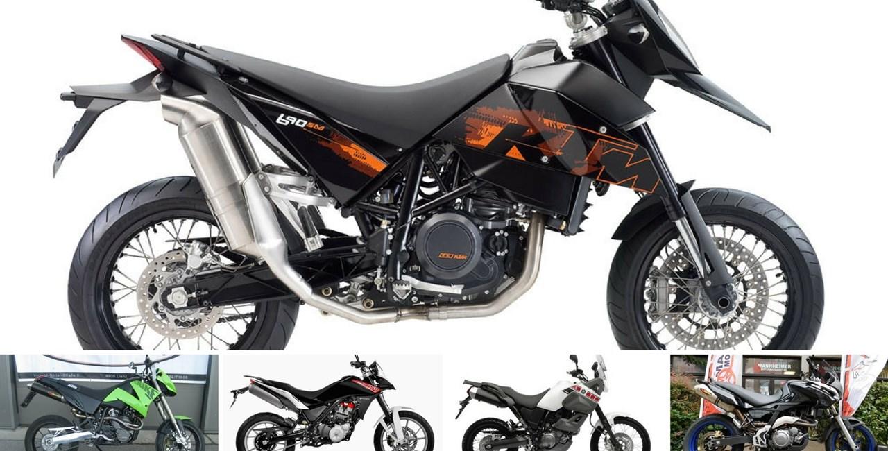 Top 5: Einzylinder Motorräder unter 5.000 Euro