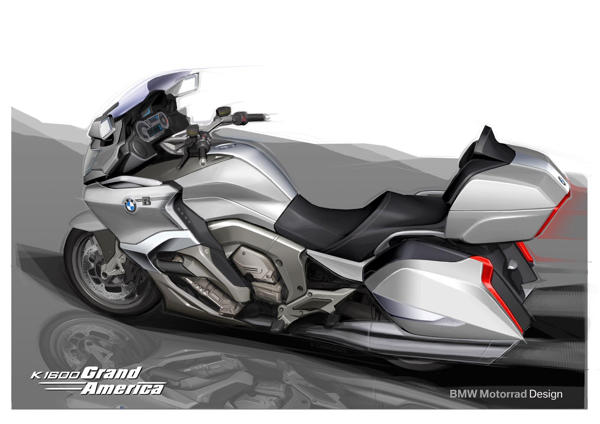 Bmw Motorrad Neuheiten 2018 K 1600 Grand America Modellnews
