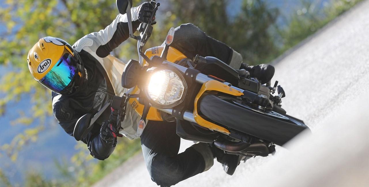 Ducati Monster 821 Test 2018