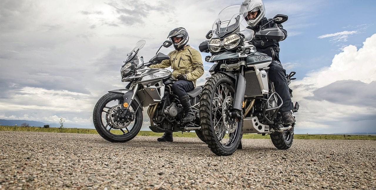 Triumph Tiger 800 XC und XR 2018