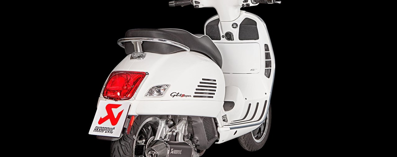 Akrapovic für Vespa GTS 125