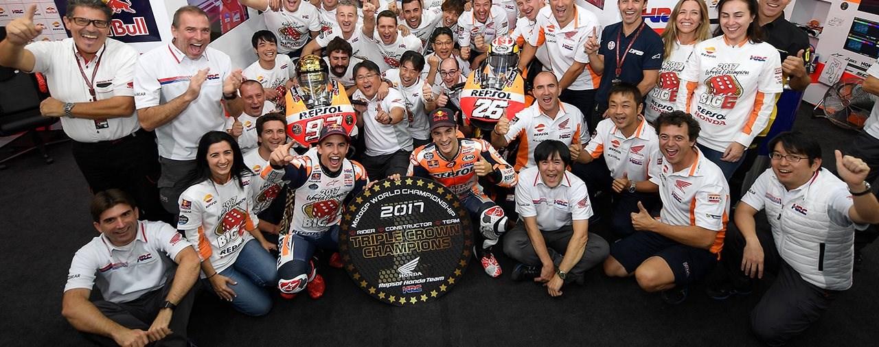 Marc Márquez ist MotoGP Weltmeister 2017
