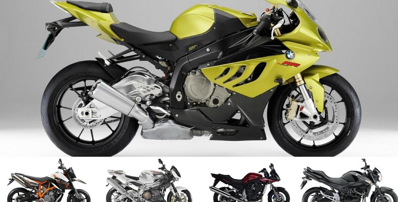 Top 5: Gebrauchtmotorräder die auch neue Bikes versägen