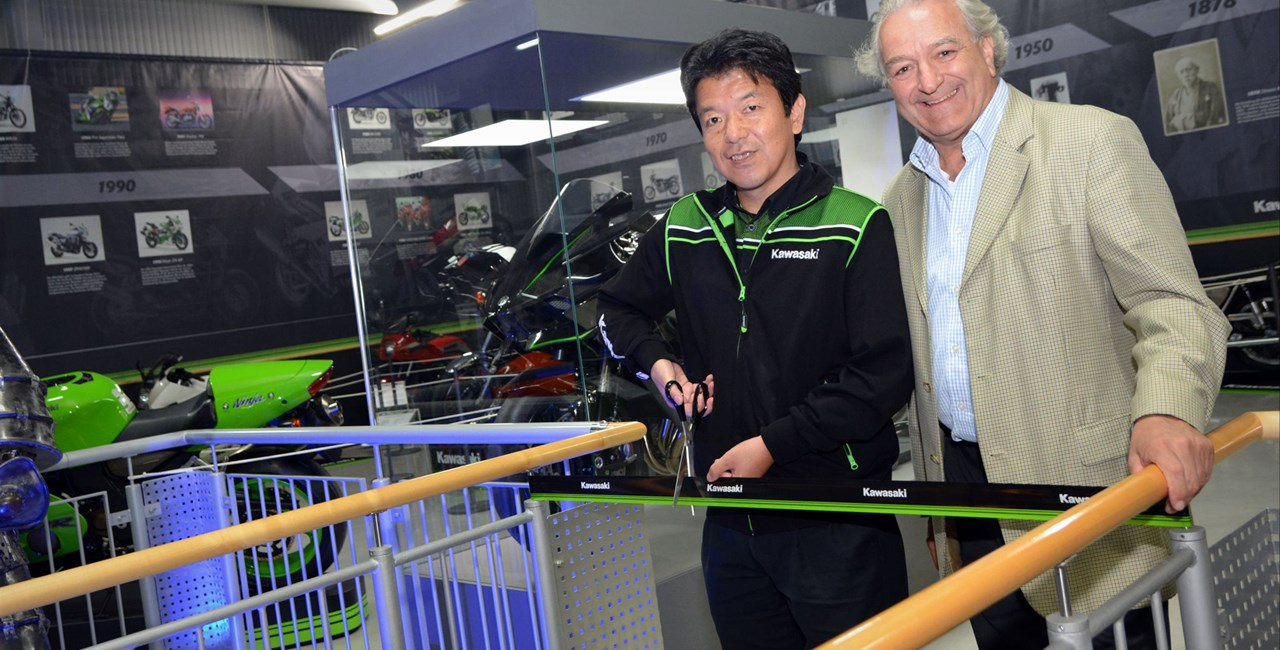 Kawasaki Sonderausstellung im Technik Museum Speyer