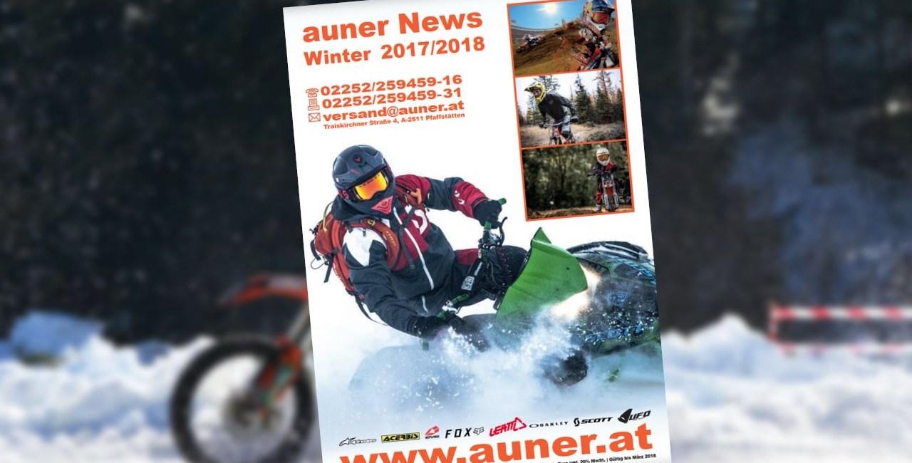 Der neue Auner Winter Katalog ist hier!