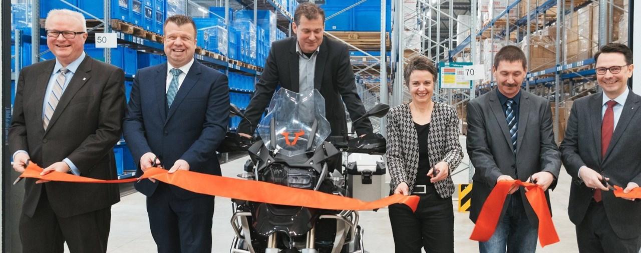 SW-MOTECH weiht neues Logistikzentrum ein