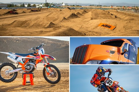 KTM rockt Supercross USA