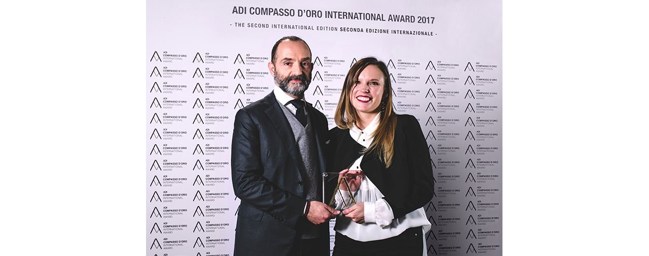 Dainese gewinnt den Compasso Dóro International Award 2017