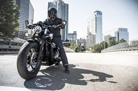 Triumph Bobber Black Test