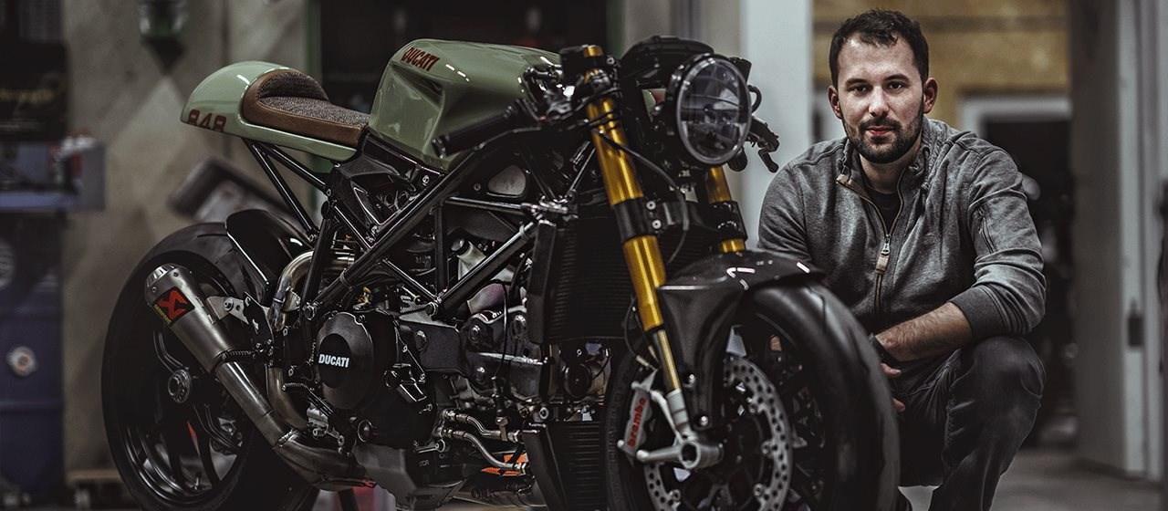 Ducati 848 und BMW R 100 RT Umbau von NCT Motorcycles