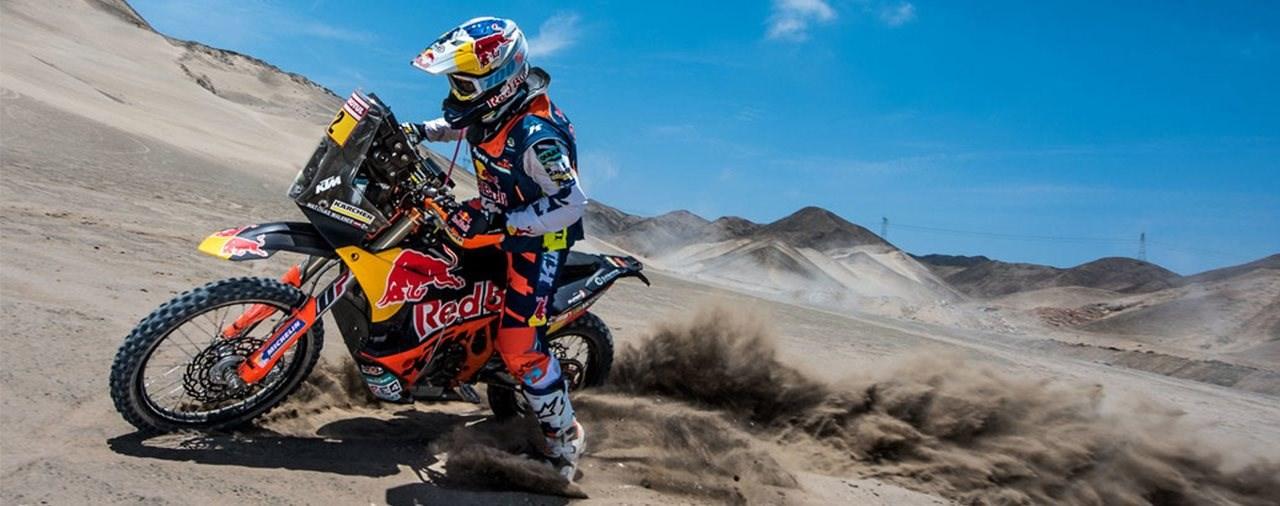 """Start zur """"Dakar 2018"""" - Matthias Walkner zum vierten Mal dabei"""