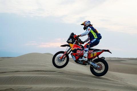 Rallye Dakar 2018 - zweiter Tagessieg für KTM!