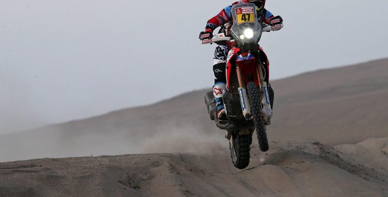 Rallye Dakar 2018 - Benavides auf Honda übernimmt die Führung!