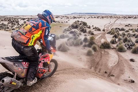 """Dakar"" - Matthias Walkner zurück in den Top 3"