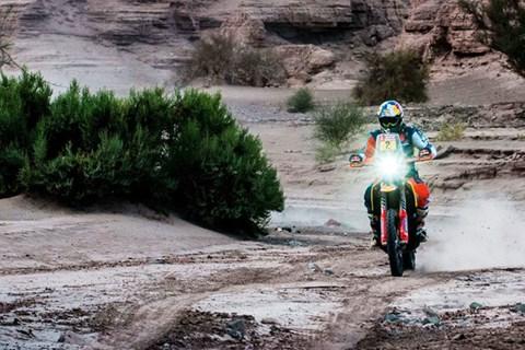"""""""Dakar"""" - Matthias Walkner hat das historische Ziel vor Augen"""