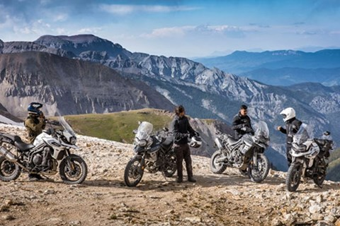 TRIUMPH Tiger Roadshow 2018