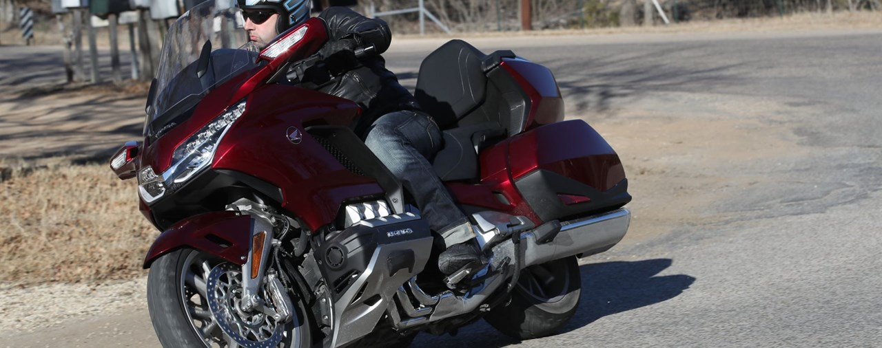 Honda Gold Wing Test 2018