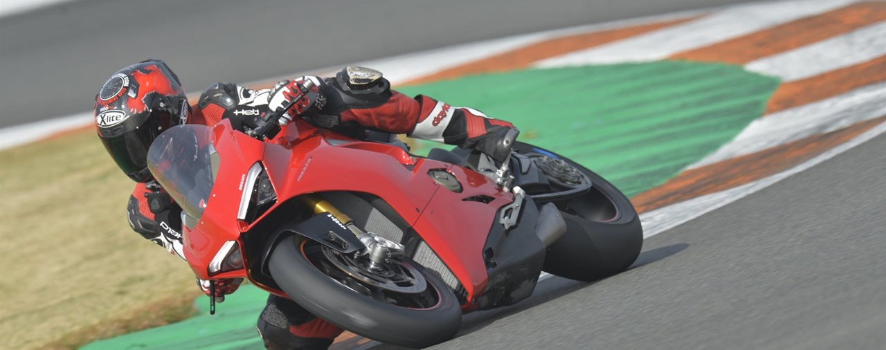 Ducati Panigale V4 2018 Test