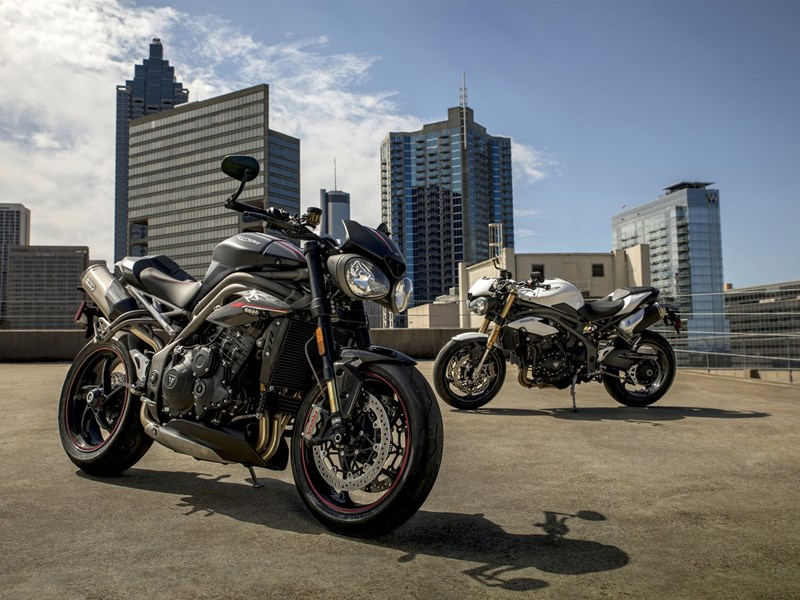 Triumph Speed Triple S & RS 2018
