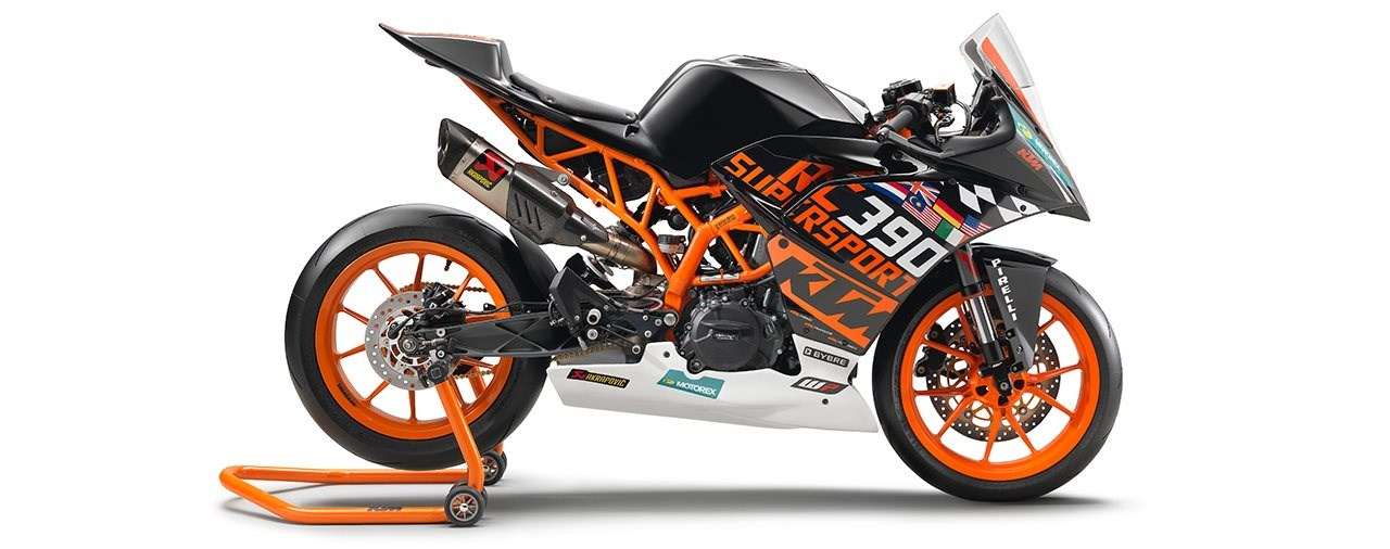 KTM Präsentiert die neue RC 390 R