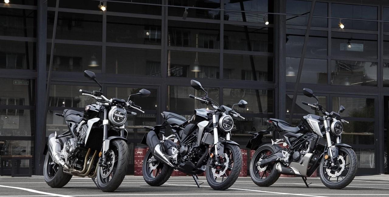 Honda auf der Motorrad Linz 2018