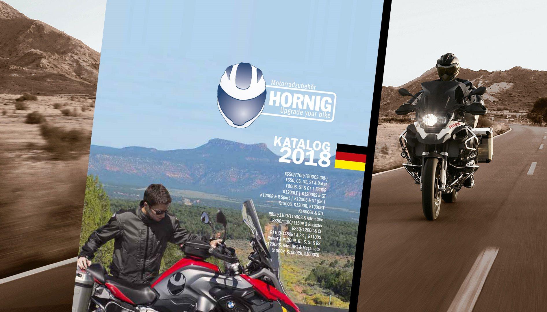 hornig bmw zubeh r katalog 2018 motorrad news. Black Bedroom Furniture Sets. Home Design Ideas