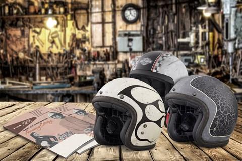 60 Jahre Motorradhelme von Harley-Davidson